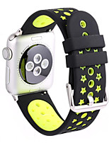 cheap -Sport Band For Apple Watch 3 Series 1 2 38mm 42mm Silicone Replacent Watch Band