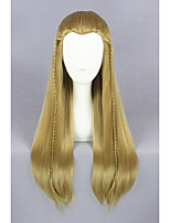 cheap -Medium Straight The Lord of the Rings-Legolas Light Brown 26inch Cosplay WigsCS196A