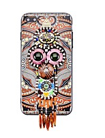 cheap -Case For Apple iPhone 7 Plus iPhone 7 Rhinestone Pattern DIY Back Cover Dream Catcher Hard Acrylic for iPhone 7 Plus iPhone 7 iPhone 6s
