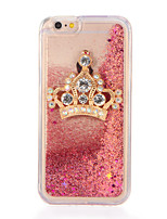 cheap -For Rhinestone Broadcrown Star Flowing Liquid DIY Case Back Cover Case Glitter Shine Soft TPU for Apple iPhone 7 7 Plus 6s 6 Plus