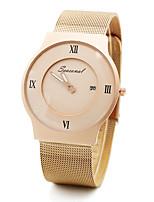 Модные часы Кварцевый Нержавеющая сталь Группа С подвесками Черный Серебристый металл Золотистый Розовое золото