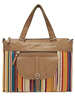 Women Bags All Seasons Cowhide Tote for Casual Brown