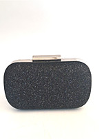 cheap -Bags PU Metal Evening Bag Buttons for Wedding Event/Party All Seasons Blue Black