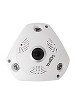 Veskys® 1536p 3.0mp 360 graus full view ip rede segurança wifi camera