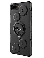 abordables -Coque Pour Apple iPhone 7 Plus iPhone 7 Antichoc Anneau de Maintien Coque Armure Dur PC pour iPhone 7 Plus iPhone 7 iPhone 6s Plus iPhone