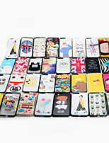 Недорогие -Кейс для Назначение iPhone 7 Plus Apple С узором Кейс на заднюю панель Мультипликация Твердый ПК для iPhone 7 Plus