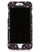 Недорогие -Кейс для Назначение Apple iPhone 7 Plus iPhone 7 С узором Чехол Цветы Твердый ПК для iPhone 7 Plus iPhone 7 iPhone 6s Plus iPhone 6s