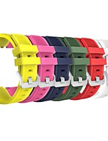 cheap -6 PCS For Samsung Gear S3 Frontier/S3 Classic Replacement Bands Strap belt Soft Silicone Watchband Wristband