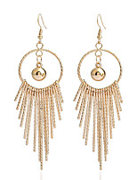 Women's Earrings Set Basic Tassel Geometric Metallic Alloy Jewelry For Party Gift Ceremony Evening Party Club