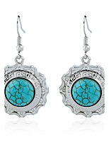 Women's Earrings Set Basic Vintage Turquoise Alloy Jewelry For Gift Daily Evening Party Club Street
