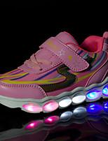 Fille Basket Confort Chaussures Lumineuses Eté Automne Grille respirante Synthétique Décontracté Soirée & EvénementElastique La boucle du