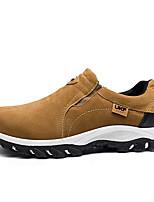 Homme Chaussures Polyuréthane Printemps Automne Confort Sandales Pour Décontracté Noir Bleu de minuit Gris Marron