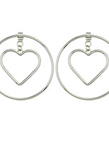 New Drop Heart Cut Earrings