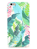 abordables -Funda Para Apple iPhone 7 Plus iPhone 7 Diseños Funda Trasera Flor Árbol Dura ordenador personal para iPhone 7 Plus iPhone 7 iPhone 6s