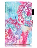 cheap -Case For Samsung Galaxy Tab A 7.0 (2016) Card Holder Wallet with Stand Pattern Auto Sleep/Wake Up Full Body Cases Mandala Hard PU Leather
