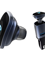 Bluetooth 4.0 headset med bil oplader