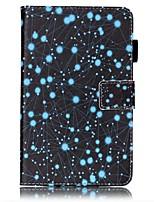 Недорогие -Кейс для Назначение SSamsung Galaxy Tab A 7.0 (2016) Бумажник для карт Кошелек со стендом С узором Авто Режим сна / Пробуждение Чехол