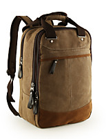 cheap -For MacBook Pro Air 11 13  Inch Backpacks Canvas Solid Color Laptop Universal Bag for Traveling and Leisure 14