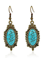 Women's Earrings Set Basic Vintage Turquoise Alloy Jewelry For Party Gift Ceremony Evening Party Club