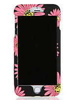 abordables -Funda Para Apple iPhone 7 Plus iPhone 7 Diseños Funda de Cuerpo Entero Flor Dura ordenador personal para iPhone 7 Plus iPhone 7 iPhone 6s