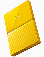 WD New My Passport 4TB 2.5 inch fresh yellow mobile hard disk WDBYFT0040BYL-CESN