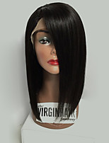 2017 Hot Selling Brazilian Virgin Hair Bob Wigs Straight Lace Front Human Hair Wigs Short Remy Virgin Hair Bob Wig for Woman