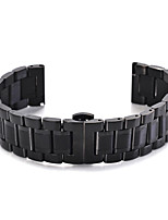 cheap -For Gear S3 Band 22mm Five Beads Stainless Steel Strap Replacement Wristbands For Gear S3 Classic Frontier Gear S3 Classic LTE Smart Strap