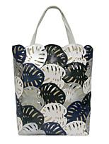 cheap -Women Bags PU Canvas Shoulder Bag Zipper for Casual All Season Green