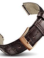 abordables -para huawei ver bandas de banda de reloj de cuero de color sólido correa de banda para huawei