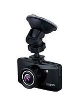 W100 HD 1280 x 720 1080p 140 Gradi Automobile DVR Generalplus1248 2,7 pollici LCD Dash CamforUniversali Microfono Bilanciamento del