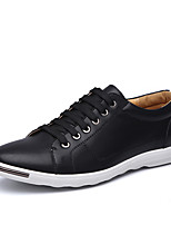 cheap -Men's Shoes Synthetic Microfiber PU Spring Summer Driving Shoes Comfort Sneakers Draping for Casual Office & Career White Black Yellow