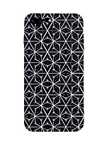 economico -Custodia Per Apple iPhone 7 Plus iPhone 7 Fantasia/disegno Per retro Con onde Mattonella Geometrica Morbido TPU per iPhone 7 Plus iPhone