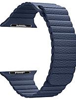 Недорогие -Кожаная петля для серии часов яблока 1 2 38 мм кожаный ремешок для замены 42 мм
