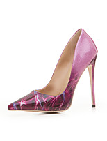 Women's Shoes Leatherette Spring Summer Basic Pump Heels Stiletto Heel Pointed Toe For Party & Evening Dress Purple