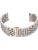 cheap -For Gear S2 Classic 20mm Seven Beads Stainless Steel Strap Replacement Wristbands Smart Strap