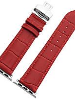 economico -Cinturino per orologio  per Apple Watch Series 3 / 2 / 1 Apple Custodia con cinturino a strappo fibbia a farfalla
