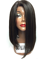 New Fashion Brazilian Virgin Hair Bob Wigs Straight Lace Front Human Hair Wigs Remy Virgin Hair Bob Wig for Woman