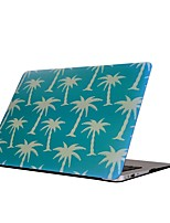 cheap -For MacBook Air Pro 11.6 13.3 15.4 inch Retain Case Cover Cartoon Drawing Painting Decorate Protector for New MacBook Coconut Tree Pattern