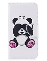 Недорогие -Кейс для Назначение Huawei P9 / Huawei P9 Lite / Huawei Кошелек / Бумажник для карт / со стендом Чехол Панда Твердый Кожа PU для P10 Lite / P10 / Huawei P9 Lite