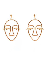 Women's Drop Earrings Hiphop Alloy Geometric Jewelry For Birthday Gift Casual Christmas Date