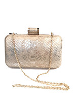 cheap -Women's Bags Metal Evening Bag Crystals for Wedding / Event / Party / Formal Gold
