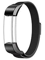 Недорогие -Для фиттинга alta / fitbit alta hr watch band milanese петля из нержавеющей стали замена браслет умный ремешок для часов