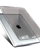 Para Case Tampa Transparente Capa Traseira Capinha Côr Sólida Macia PUT para Apple iPad 4/3/2