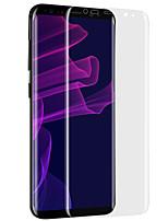 abordables -Vidrio Templado Alta definición (HD) Borde Curvado 2.5D Anti-Arañazos Protector de Pantalla Frontal Samsung Galaxy
