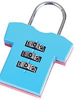 SANTO 0420 Zinc Alloy Padlock 3 Digit Password Baggage Lock Bag Lock Gym Lock  Dail Lock  Password Lock