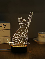 LED Night Light Decoration Light-0.5W-USB Decorative - Decorative