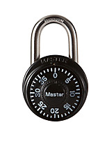 MasterLock 1533MCND Zinc Alloy Small Numbers Padlock 3 Digit Password Turntable Gymnasium Door Pad Padlock Dail Lock Password Lock