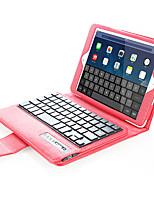 Per Custodie cover Con supporto Con tastiera Con chiusura magnetica Integrale Custodia Tinta unica Resistente Similpelle per AppleiPad