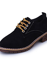 Women's Shoes PU Spring Summer Comfort Slingback Light Soles Slippers & Flip-Flops Flat Heel Peep Toe Polka Dot Split Joint For Casual