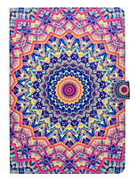 cheap -Case for Apple iPad pro 10.5 9.7'' Card Holder with Stand Pattern Full Body Mandala Hard PU Leather iPad (2017) 2 3 4 Air 2 Air mini 1 2 3 4